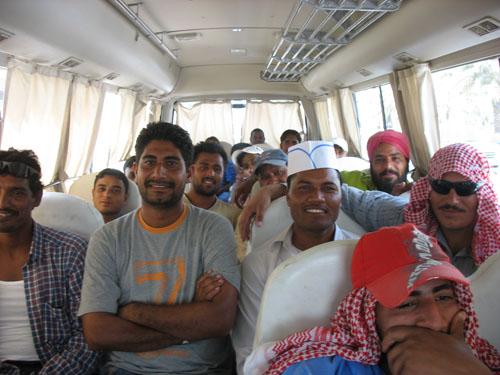 Men on bus-smaller
